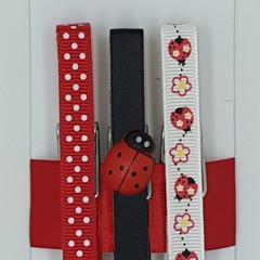 LadyBug peg magnet