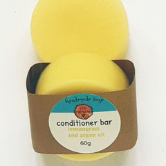 Lemongrass and Argan Oil Conditioner Bar