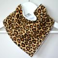 BUY 3 GET 4th FREE Bandana Dribble Bib Leopard Print