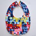 BUY 3 GET 4th FREE Geometric Paintbox Prisms Bib