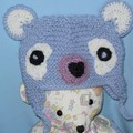 Soft Toy Teddy Bear and Teddy Bear Hat