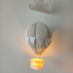 Nightlight Air Balloon Small Neutral