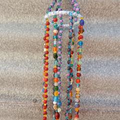 Beaded Hanger in Multi Colours