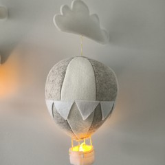 Nightlight Air Balloon Large Neutral