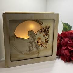 Lasercut Light Box (19x19x5cm)