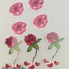 Rose sticker pack