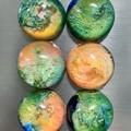 Colour Burst Magnets 6pk EARTH