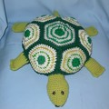 Soft Toy Turtle and Dinosaur Baby Blanket/Wrap/Swaddle Cloth