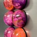Colour Burst Magnets 6pk Purple Fusion