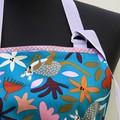 Kangaroo Kapers ladies botanical design one piece apron