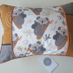 Decorative nursery cushion covkoala cushion, australiana gift, baby shower gift