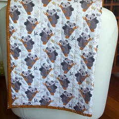 Baby cot quilt/nursery decor/baby shower giftBaby, australiana gift, koala