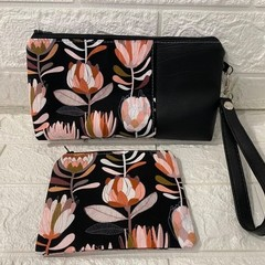 BLACK PROTEA - AYVAH CLUTCH BAG