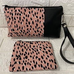 DOUBLE DOT - AYVAH CLUTCH & COIN PURSE
