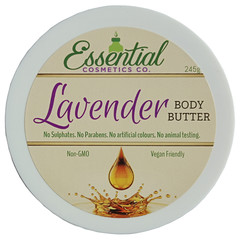Plant Based Lavender Body Butter - perfect for winter!