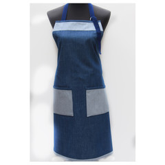 Denim Delight one piece apron
