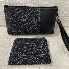 MONOCHROME - AYVAH CLUTCH BAG & COIN PURSE