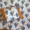 Baby cot quilt/nursery decor/baby shower giftBaby, australiana gift, koala