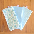 Cotton washer trio packs - assorted