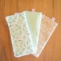 Cotton washer trio packs - boy/neutral