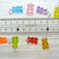 Rainbow Gummy Bear Marker Set | Stitch Markers | Crochet Markers