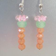 S A L E ! ~ Easter Carrot Earrings