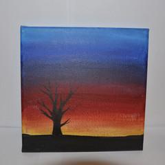 Medium Silhouette Painting