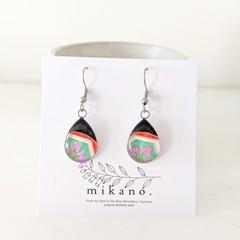 SALE! Eco resin earrings