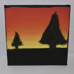 Small Silhouette Painting