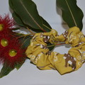 Yellow Quokka Scrunchie