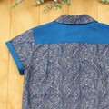 Precious Paisley - Boy's Button up Shirt - Size 3