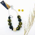 Mustard Swirl Necklace