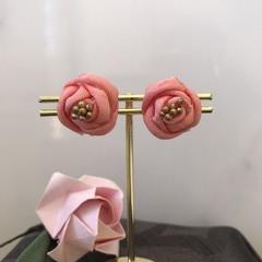 TSUMAMI ZAIKU Earrings  [Pink1]