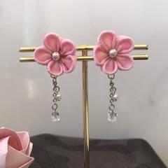 TSUMAMI ZAIKU Earrings  [Pink2]