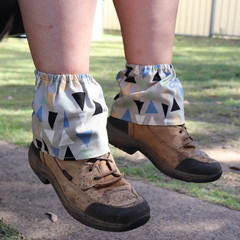 Geometric Adult Sock Protectors
