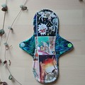"8"" moderate exposed core cloth pad (MishMash) )"