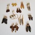 Statement Earrings|Horn Earrings|Earrings for Women |Eunique Gift for Her