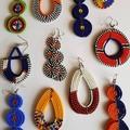 Statement Earrings|Beaded Earrings|Earrings for Women |Eunique Gift for Her