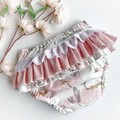 Frilly Nappy Cover - 0 | 6-12 Months | Ruffles | Diaper Cover | Stalks | Baby