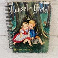 2020/2021 Financial Year Upcycled Diary -  Little Golden Book - Hansel & Gretel