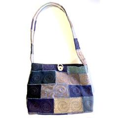Cyclone up-cycled handbag