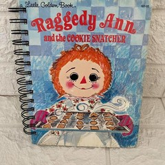 Little Golden Book Upcycled Notebook - Raggedy Ann