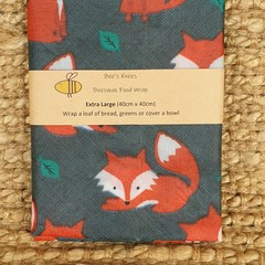 Extra Large Beeswax Wrap - Foxy