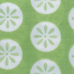 Medium Beeswax Wrap - Green Circles