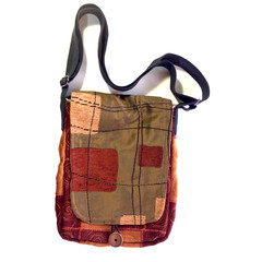 Ulluru Messenger up-cycled bag - ON SALE
