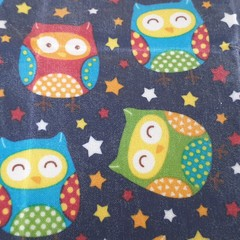 Medium Beeswax Wrap - Owl