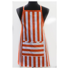 Lollypop Orange children's apron