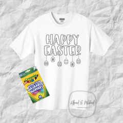 Easter Colouring in T-Shirt