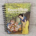 2021 Little Golden Book Upcycled Diary - Snow White and the Seven Dwarfs