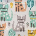 Small Beeswax Wrap - Kitty